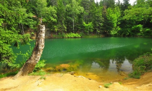 Zdjecie POLSKA / Dolny Śląsk / Rudawy Jnowickie / Kolorowe Jeziorka