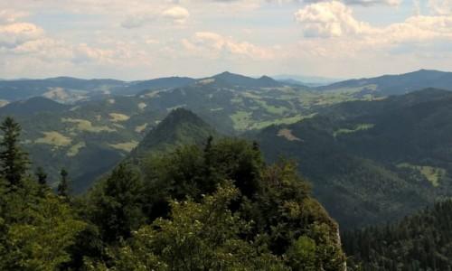 Zdjecie POLSKA / Pieniny / Góry / Trasa na Trzy Korony