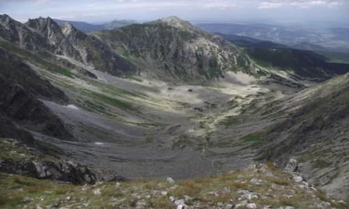 Zdjecie POLSKA / - / Tatry / Krzyżne- widok na Dolinę Pańszczyca