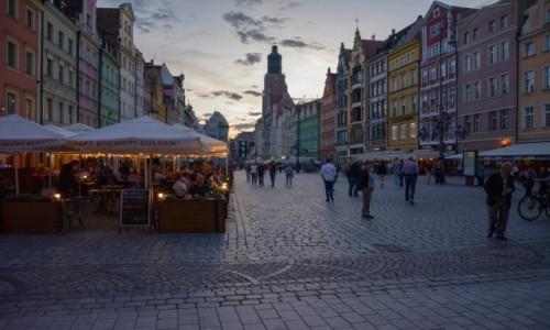 Zdjecie POLSKA / woj. dolnośląskie / Wrocław / pocztówki z Wrocławia - Rynek