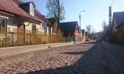 Zdjęcie POLSKA / podlaskie / Białystok, ul. Koszykowa / Kocie łby 2