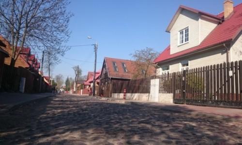 Zdjęcie POLSKA / podlaskie / Białystok, ul. Koszykowa / Kocie łby