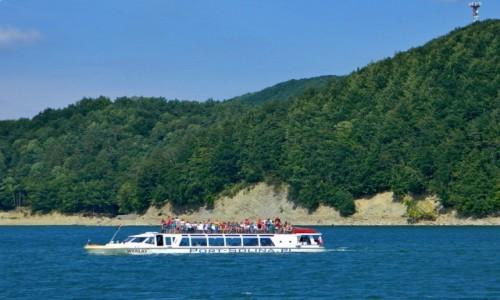 Zdjęcie POLSKA / podkarpackie / Solina / Rejs statkiem