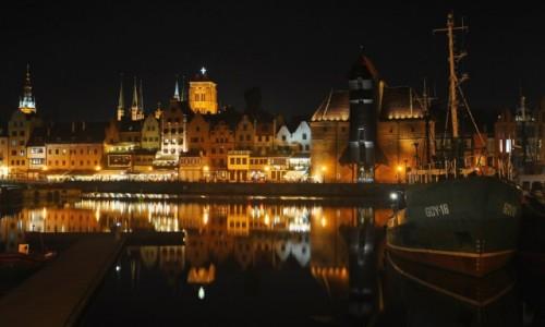 Zdjecie POLSKA / pomorskie / Gdańsk / Gdańsk po zmroku