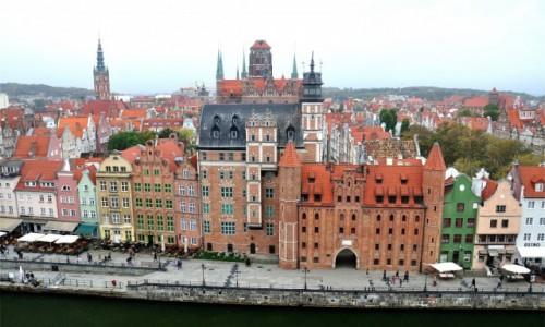 Zdjęcie POLSKA / pomorskie / Gdańsk / Panorama Starego Miasta, Gdańsk