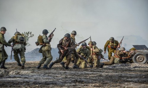 Zdjecie POLSKA / Świętokrzyskie / Tokarnia Skansen / Bitwa pod Broniną 2