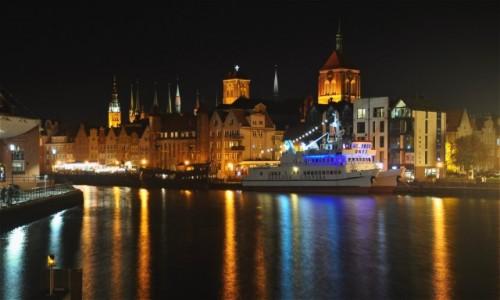 POLSKA / pomorskie / Gdańsk / Gdańsk po północy
