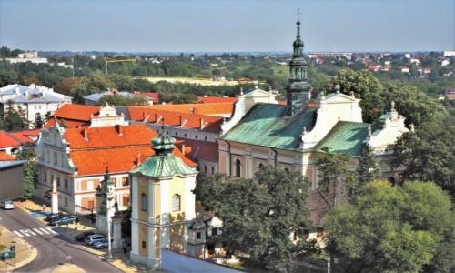 Zdjecie POLSKA / woj. świętokrzyskie / Sandomierz, widok z Bramy Opatowskiej / Sandomierz..