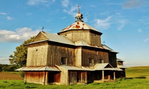 POLSKA / województwo lubelskie / Myców / Cerkiew św.Mikołaja z 1859 roku
