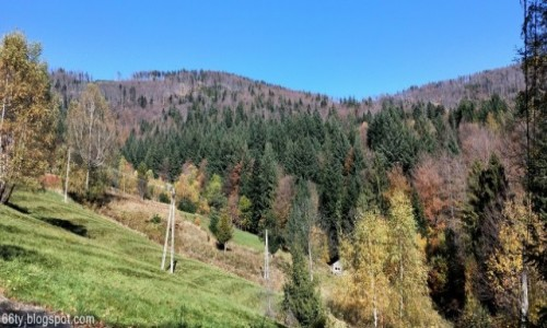 POLSKA / Beskidy / Beskid Śląski / Jesień w górach