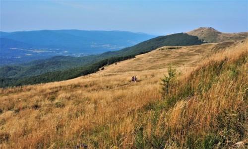POLSKA / Bieszczady / szlak Górna Wetlinka - Osadzki Wierch -Tarnica / na Osadzki Wierch...