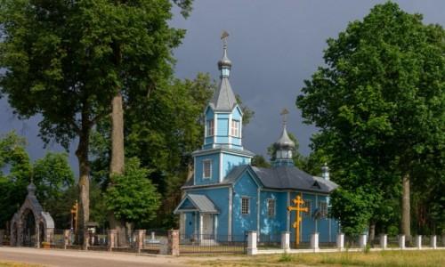 POLSKA / Podlasie / Werstok / Cerkiew Podwyższenia Krzyża Pańskiego