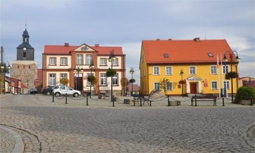 POLSKA / zachodniopomorskie / Moryń / Rynek w Moryniu