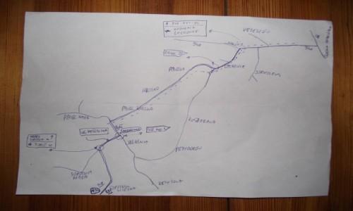 Zdjęcie POLSKA / Beskid Żywiecki / Sucha Beskidzka- Sopotnia Wielka / Nawigacja- mapa
