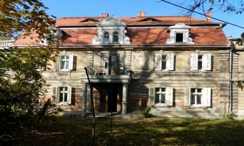 Zdjecie POLSKA / donośląskie / Bystrzyca Dolna / Pałac, obecnie dom mieszkalny