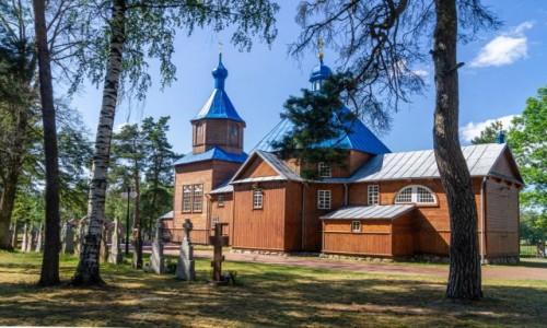 Zdjecie POLSKA / Podlasie / Kuraszewo / Cerkiew św. Antoniego Pieczerskiego
