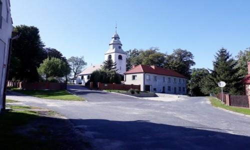 Zdjecie POLSKA / Dolny Śląsk / Wilczków, Gmina Malczyce / Kościół pw Matki Bożej Różańcowej w Wilczkowie