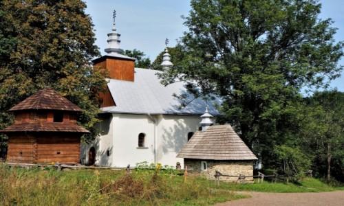 POLSKA / Bieszczady / Łopienka / zawsze otwarta...