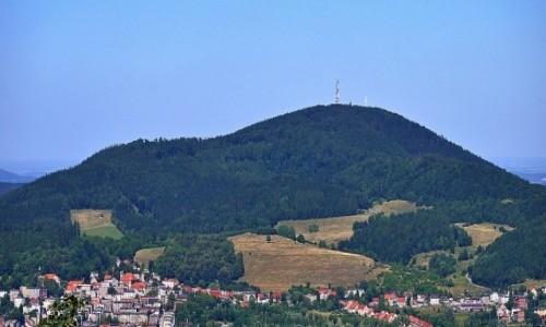 POLSKA / dolnośląskie / Boguszów / Masyw Chełmca 851 m n.p.m