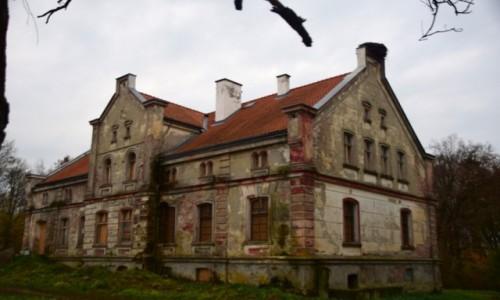 Zdjecie POLSKA / Warmińsko-Mazurskie / Równina Górna / Dwór rodziny Hahlweg