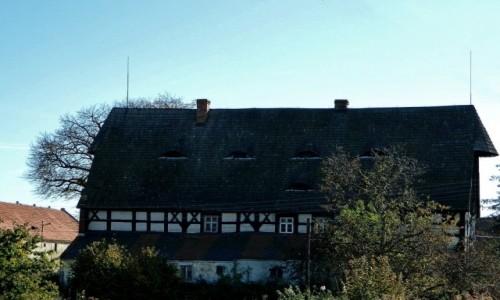 POLSKA / dolnośląskie / Sieniawka / Zabytkowy dwór