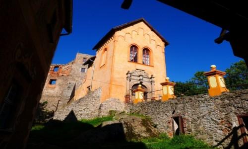 POLSKA / dolnośląskie / Grodno / Zamek Grodno