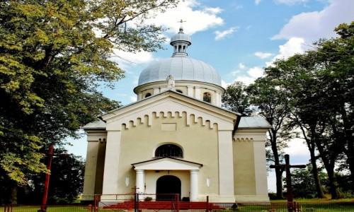 POLSKA / województwo lubelskie / Szczepiatyn / Cerkiew greckokatolicka pw.Św.Trójcy z 1913 roku