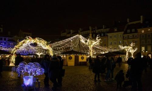Zdjecie POLSKA / mazowieckie / Warszawa / Świąteczna Warszawa: Stare Miasto