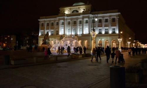 Zdjecie POLSKA / mazowieckie / Warszawa / Świąteczna Warszawa: Pałac Staszica