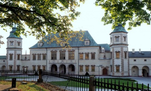 POLSKA / świętokrzyskie / Kielce, Pałac Biskupów Krakowskich / dawny pałac  biskupi...