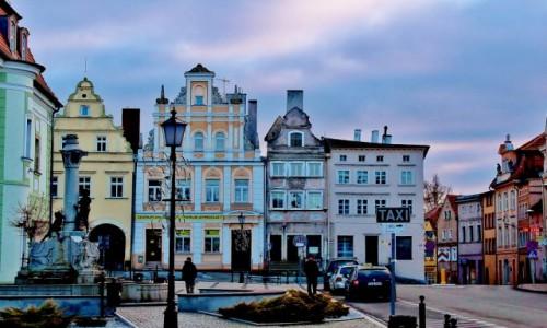 POLSKA / województwo dolnośląskie / Gryfów Śląski / Rynek w Gryfowie