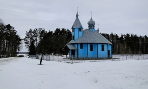 POLSKA / Podlasie / Szastały  / Wspomnienie podlaskiej zimy :)