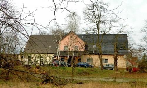 POLSKA / opolskie / Januszkowice / Zabytkowy dwór