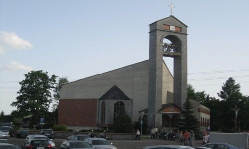 Zdjecie POLSKA / Moszna / Moszna / Kościół w Mosznej
