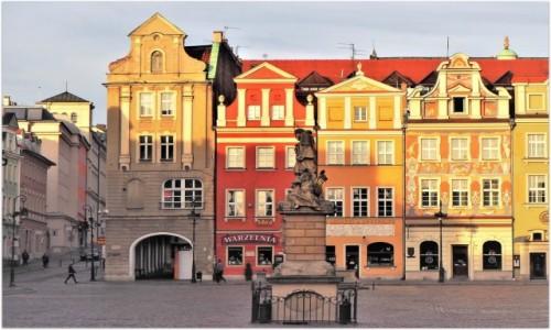 Zdjecie POLSKA / Wielkopolska / Poznań, Stary Rynek / pierzeja zachodnia, jn.