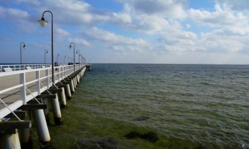 Zdjecie POLSKA / woj. pomorskie / Gdynia-Orłowo / molo w Gdyni-Orłowie