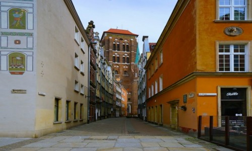 Zdjęcie POLSKA / Pomorskie  / Gdańsk / Zaułek