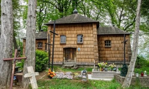Zdjecie POLSKA / Podkarpackie / Kruhel Wielki / Cerkiew Wniebowstąpienia Pańskiego
