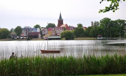 Zdjecie POLSKA / zachodniopomorskie / Barlinek / Jezioro Barlineckie i widok na miasto