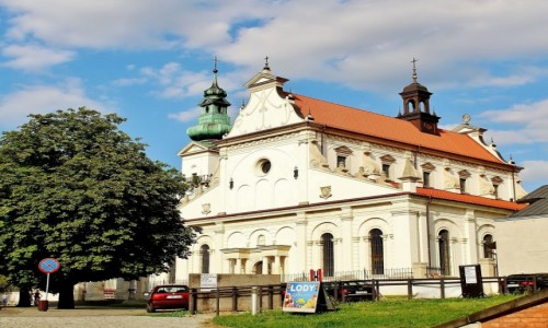 POLSKA / województwo lubelskie / Zamość / Katedra Zmartwychwstania Pańskiego i św.Tomasza Apostoła z XVI wieku