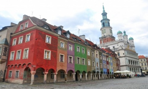 POLSKA / wielkopolskie / Poznań / Na Rynku w Poznaniu