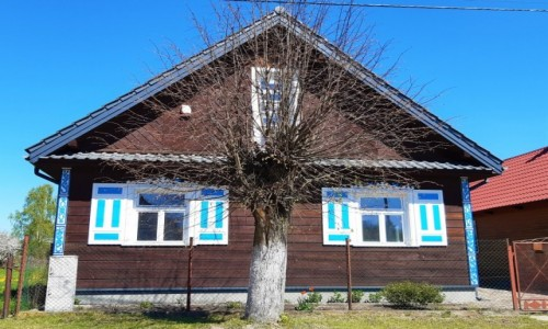 Zdjecie POLSKA / Podlasie / Trzescianka / Kraina Otwartych Okiennic