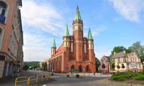 Zdjecie POLSKA / pomorskie / Wejherowo / Kościół pw. św. Leona Wielkiego i Stanisława Kostki w Wejherowie