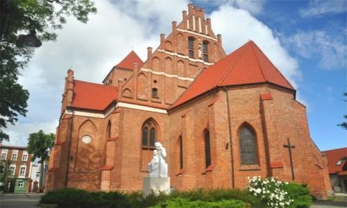 Zdjecie POLSKA / pomorskie / Puck / Kościół św Piotra i Pawła w Pucku