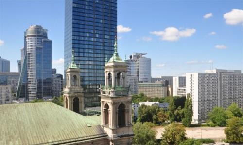 Zdjecie POLSKA / mazowieckie / Warszawa / Warszawska architektura