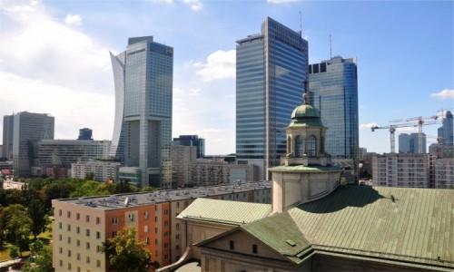 Zdjecie POLSKA / mazowieckie / Warszawa / Warszawskie wieżowce