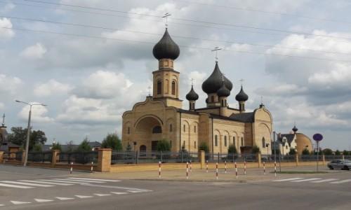 Zdjecie POLSKA / Podlasie / Bielsk Podlaski / Cerkiew Zaśnięcia Przenajświętszej Bogurodzicy