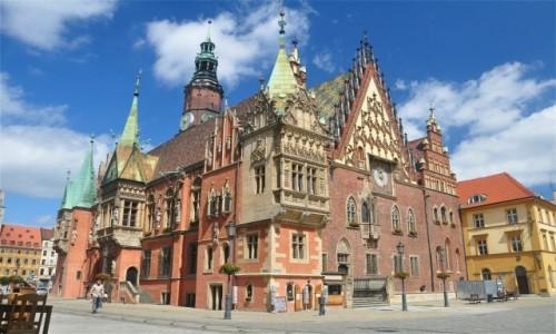 Zdjecie POLSKA / dolnośląskie / Wrocław / Stary Ratusz we Wrocławiu