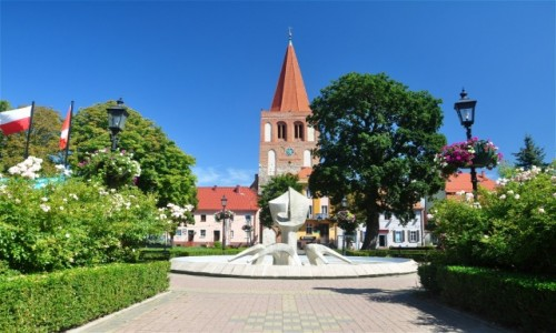 Zdjęcie POLSKA / zachodniopomorskie / Myślibórz / Na Rynku w Myśliborzu