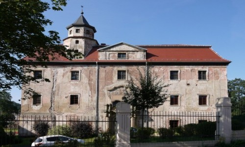Zdjęcie POLSKA / dolnoślaskie / Struga / Pałac Czetritzów
